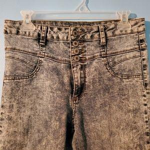 Wet Seal high waist skinny jeans